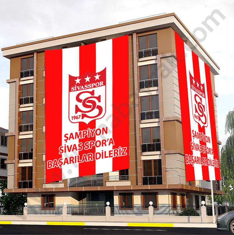 sivasspor taraftar bayragi Takım Bayrağı