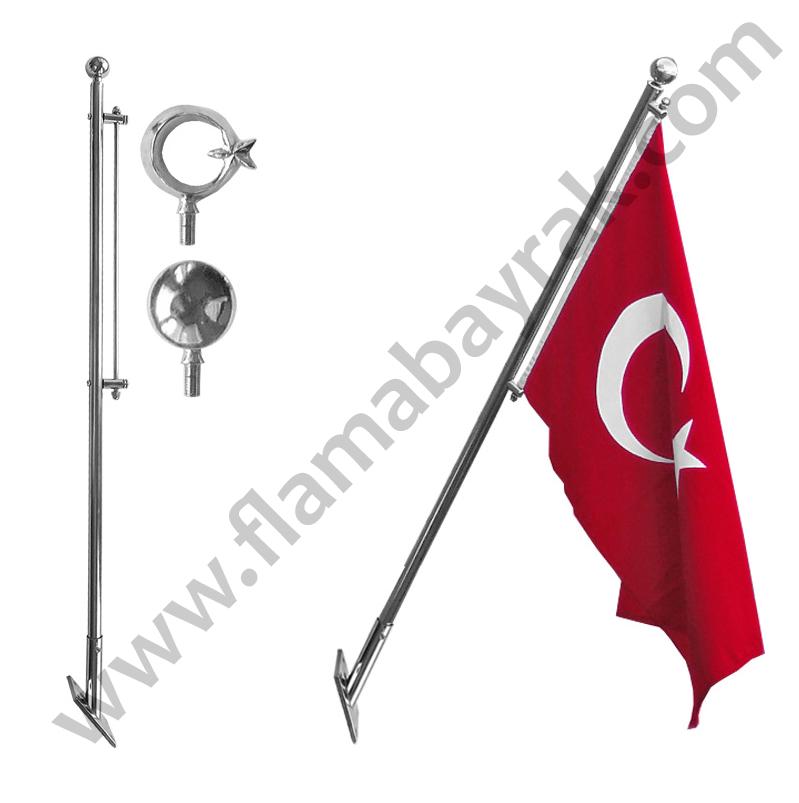 teleskopikdirek Bayrak Direği