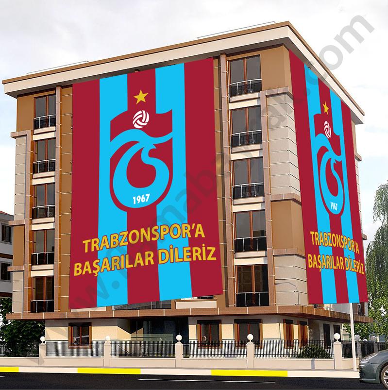 trabzonspor taraftar bayragi Takım Bayrağı