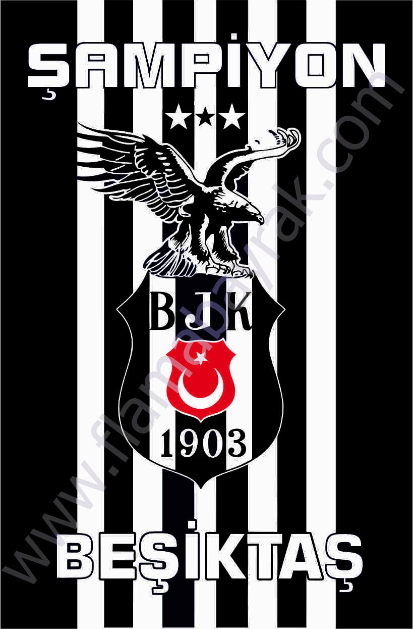 BE%C5%9E%C4%B0KTA%C5%9E 1 Beşiktaş Takım Bayrağı