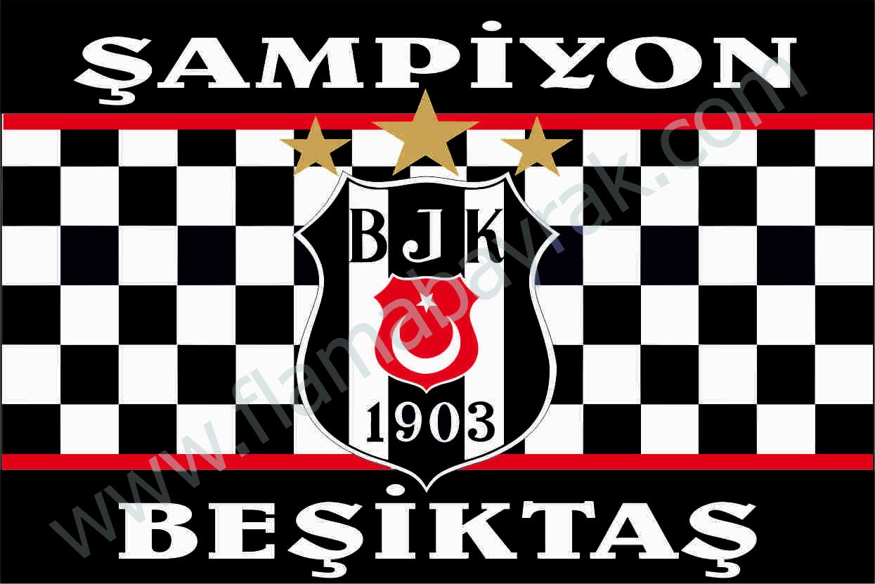 BE%C5%9E%C4%B0KTA%C5%9E 12 Beşiktaş Takım Bayrağı