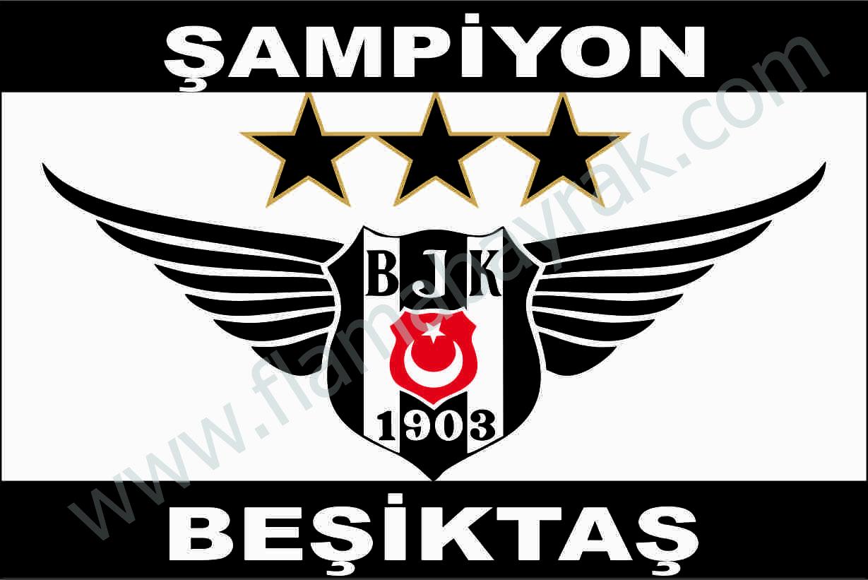 BE%C5%9E%C4%B0KTA%C5%9E 14 Beşiktaş Takım Bayrağı