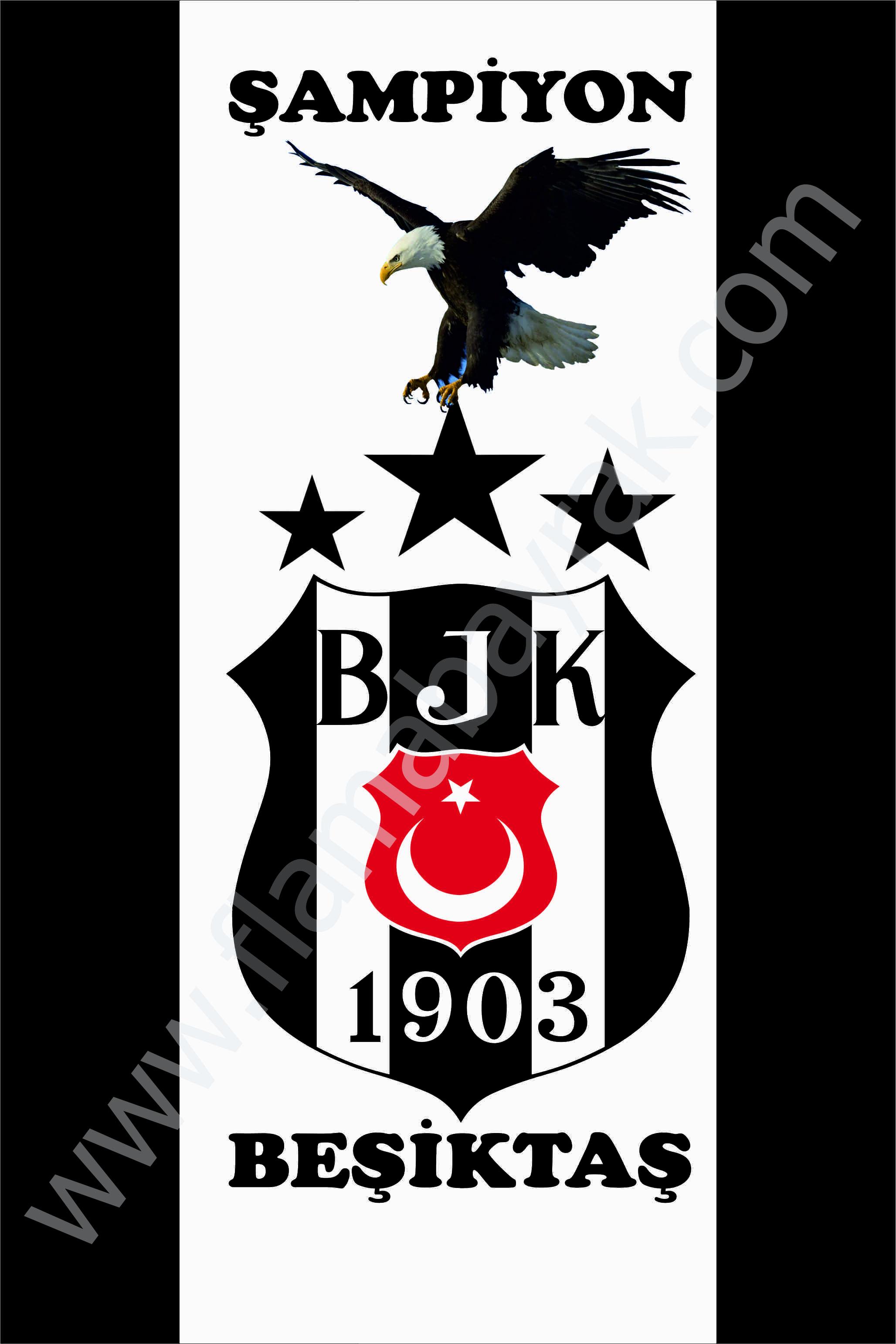BE%C5%9E%C4%B0KTA%C5%9E 15 Beşiktaş Takım Bayrağı