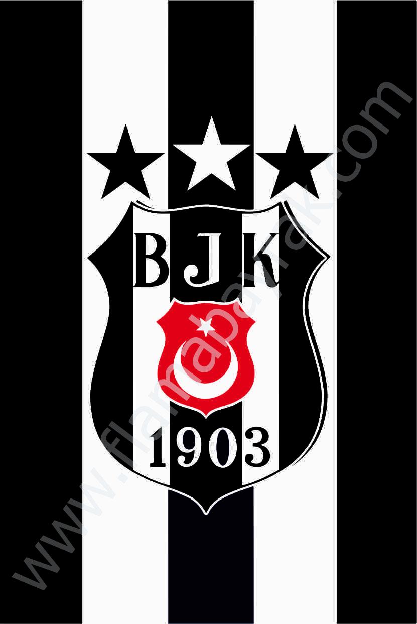 BE%C5%9E%C4%B0KTA%C5%9E 3 Beşiktaş Takım Bayrağı