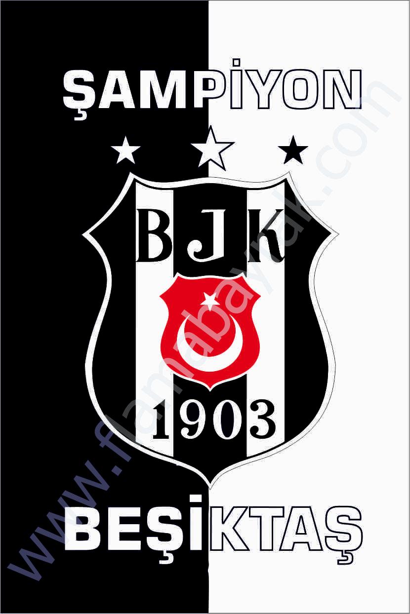BE%C5%9E%C4%B0KTA%C5%9E 4 Beşiktaş Takım Bayrağı