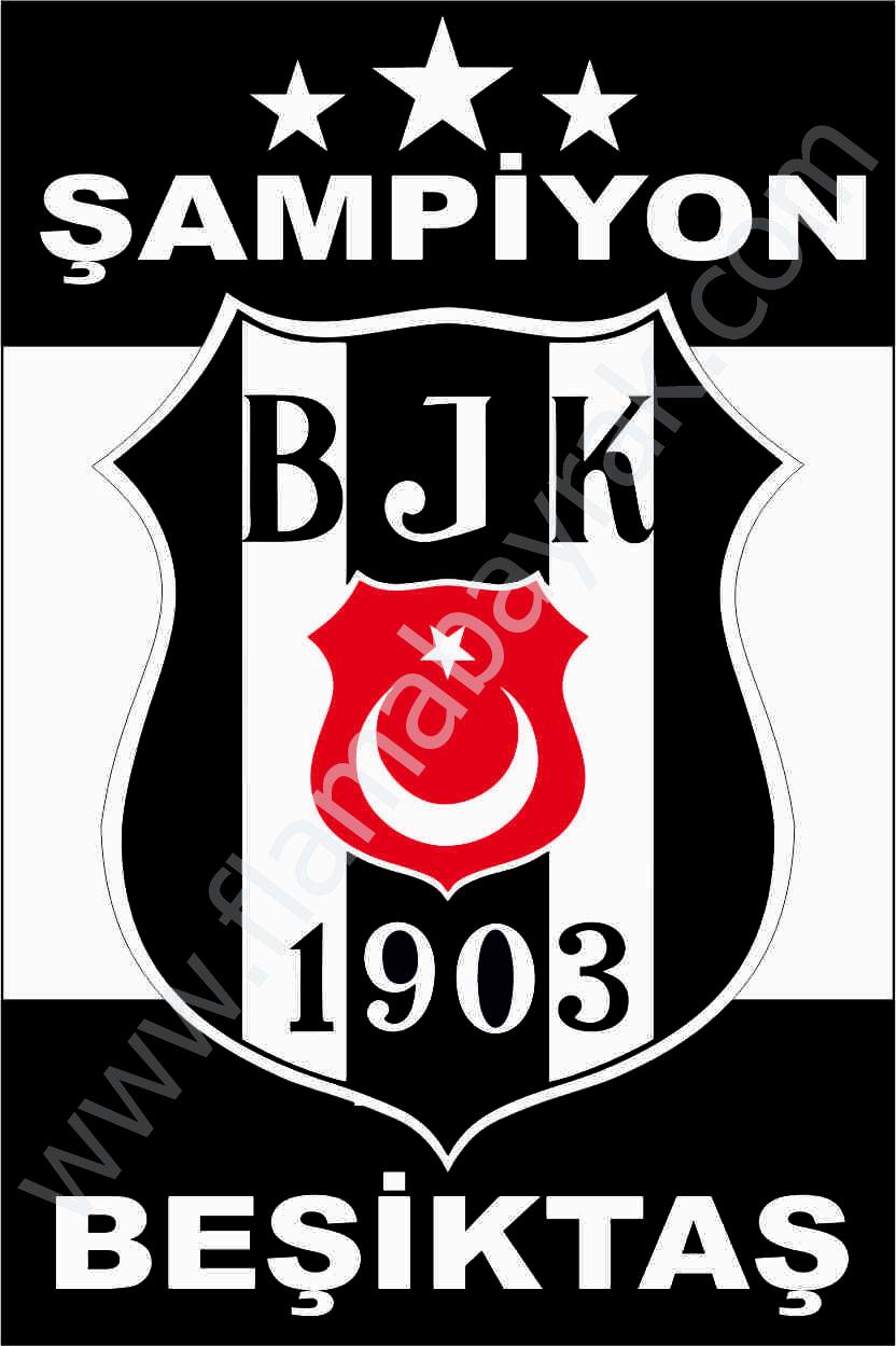 BE%C5%9E%C4%B0KTA%C5%9E 6 Beşiktaş Takım Bayrağı