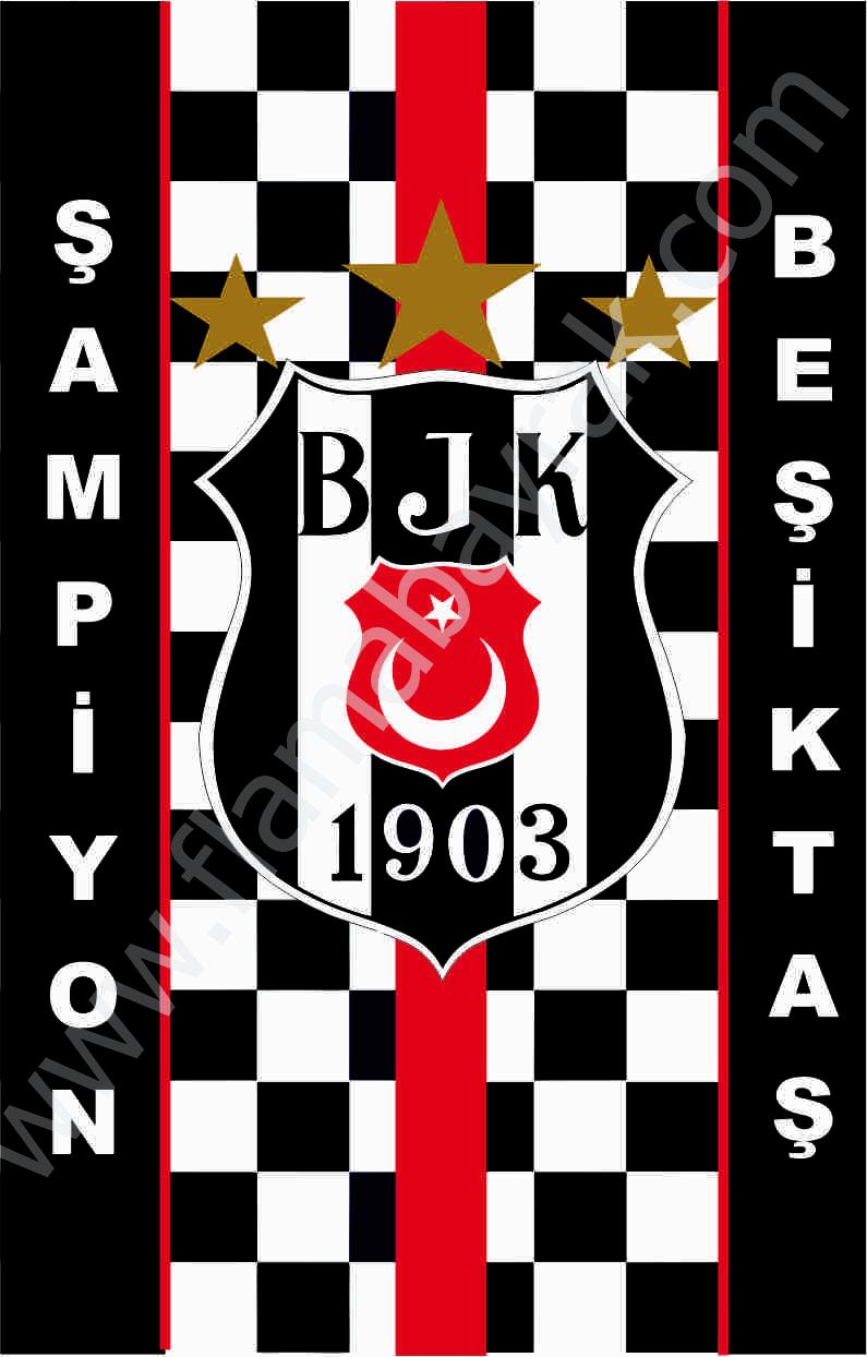 BE%C5%9E%C4%B0KTA%C5%9E 7 Beşiktaş Takım Bayrağı