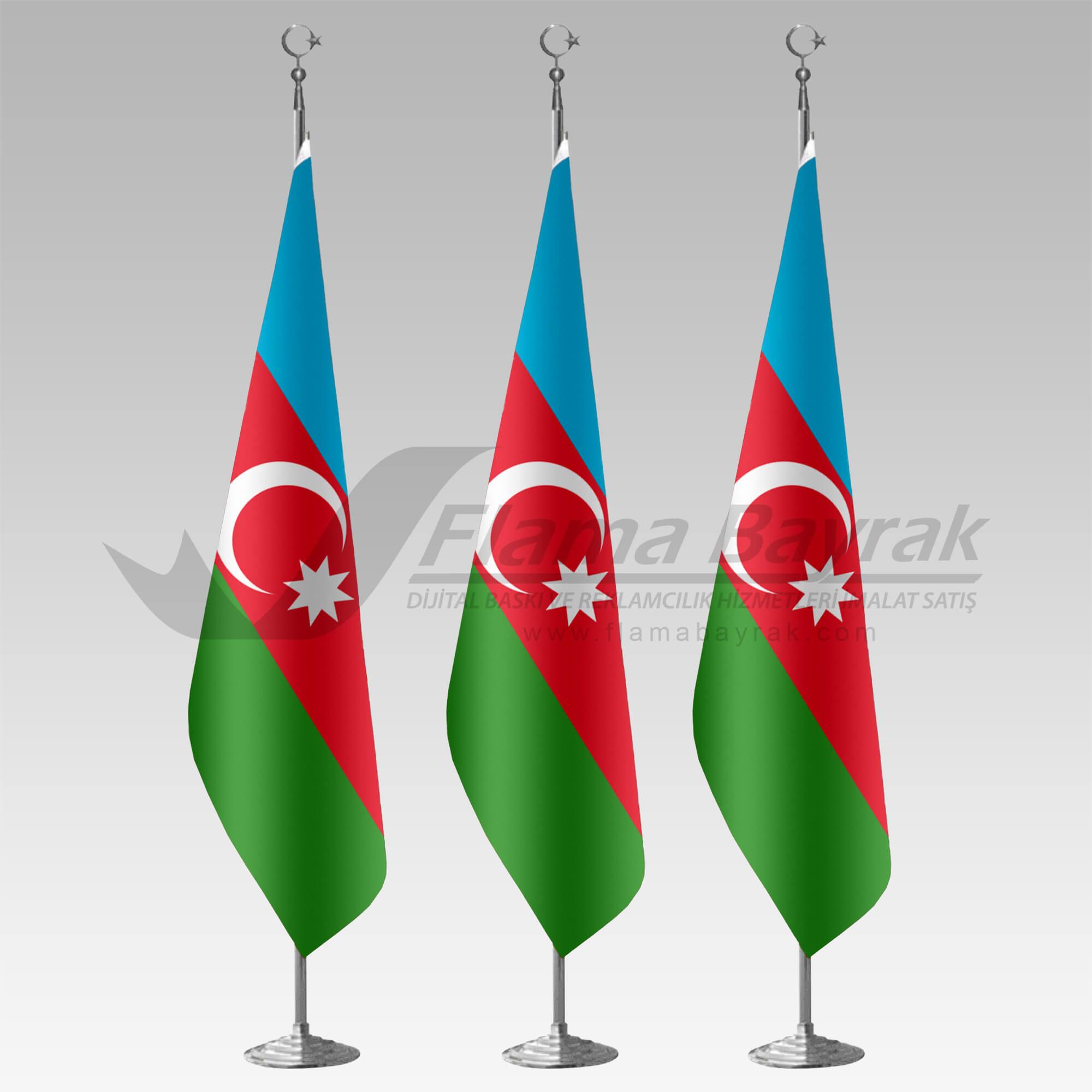 Azerbaycan Makam Bayrağı Makam Bayrağı