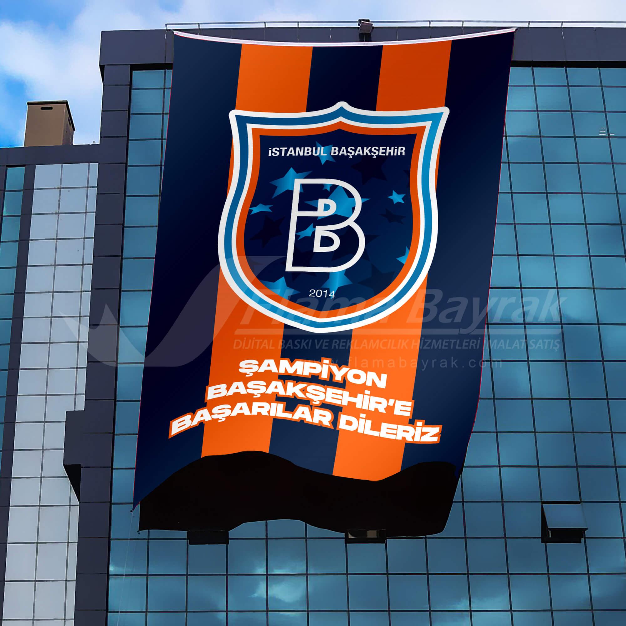 başakşehir takım bayrakları Takım Bayrağı
