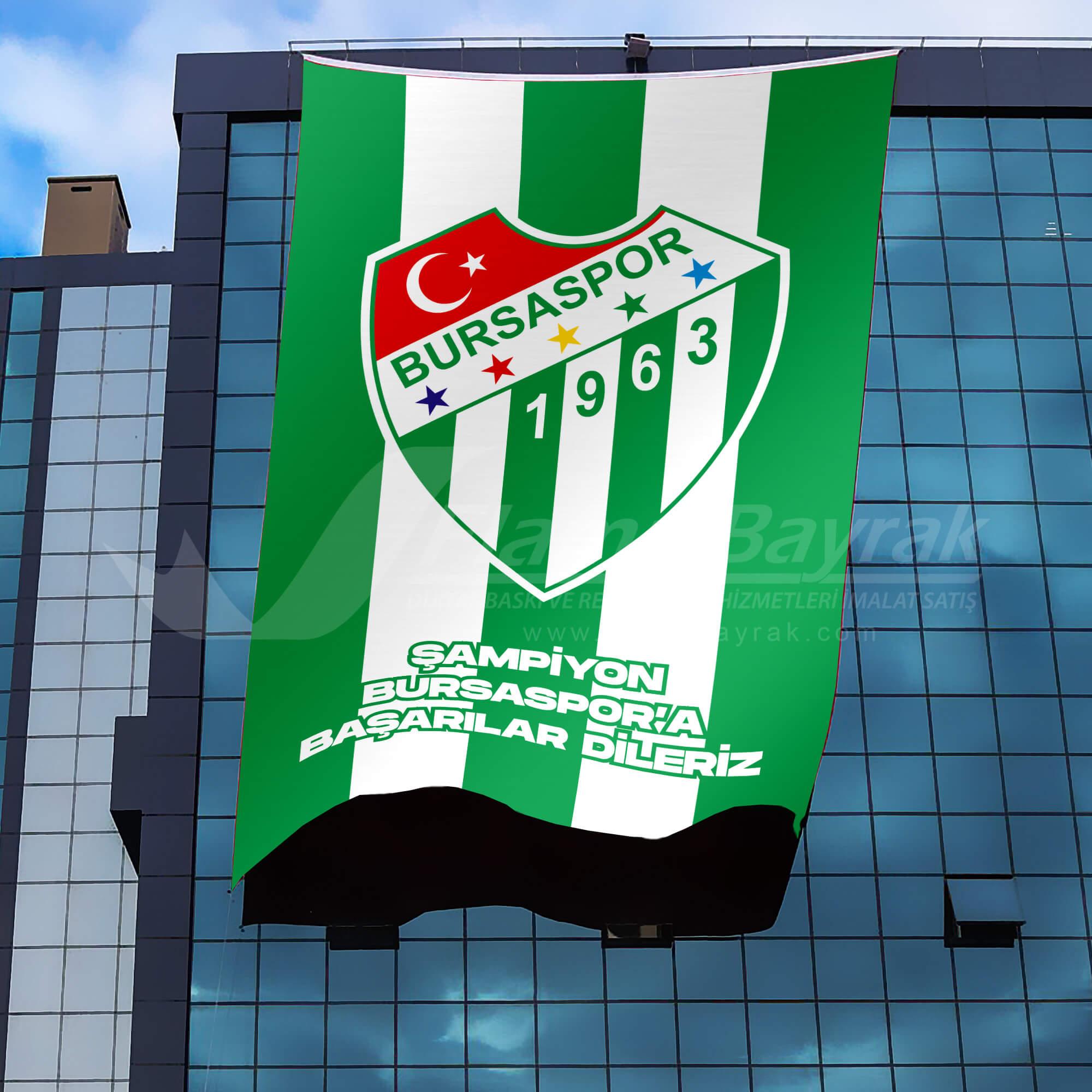 bursa takım bayrakları Takım Bayrağı