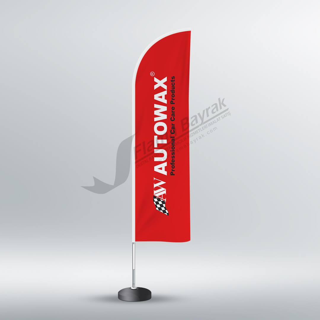 dubalı bayrağı autowax Reklam Bayrağı