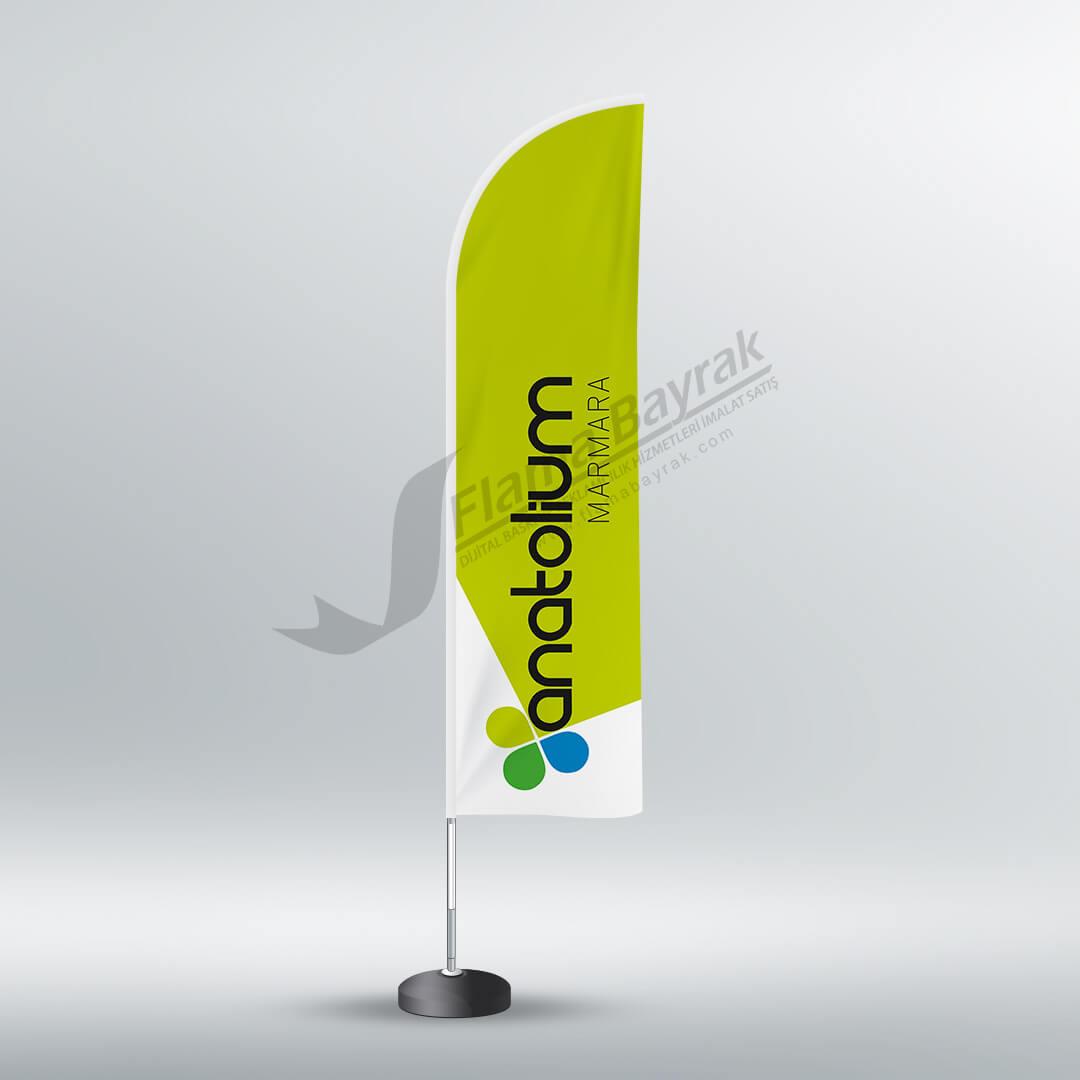 plaj bayrağı anatolium Reklam Bayrağı