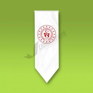 Genclik ve Spor Bakanligi Sivri Flama 300x300 Kırlangıç Bayrak