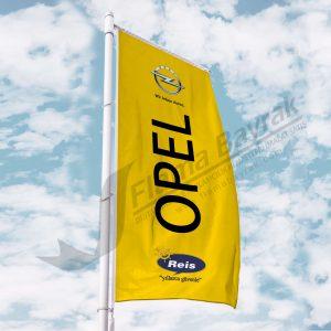Opel Reis Gonder Bayragi 300x300 Benzinlik Tipi Gönder  Bayrağı