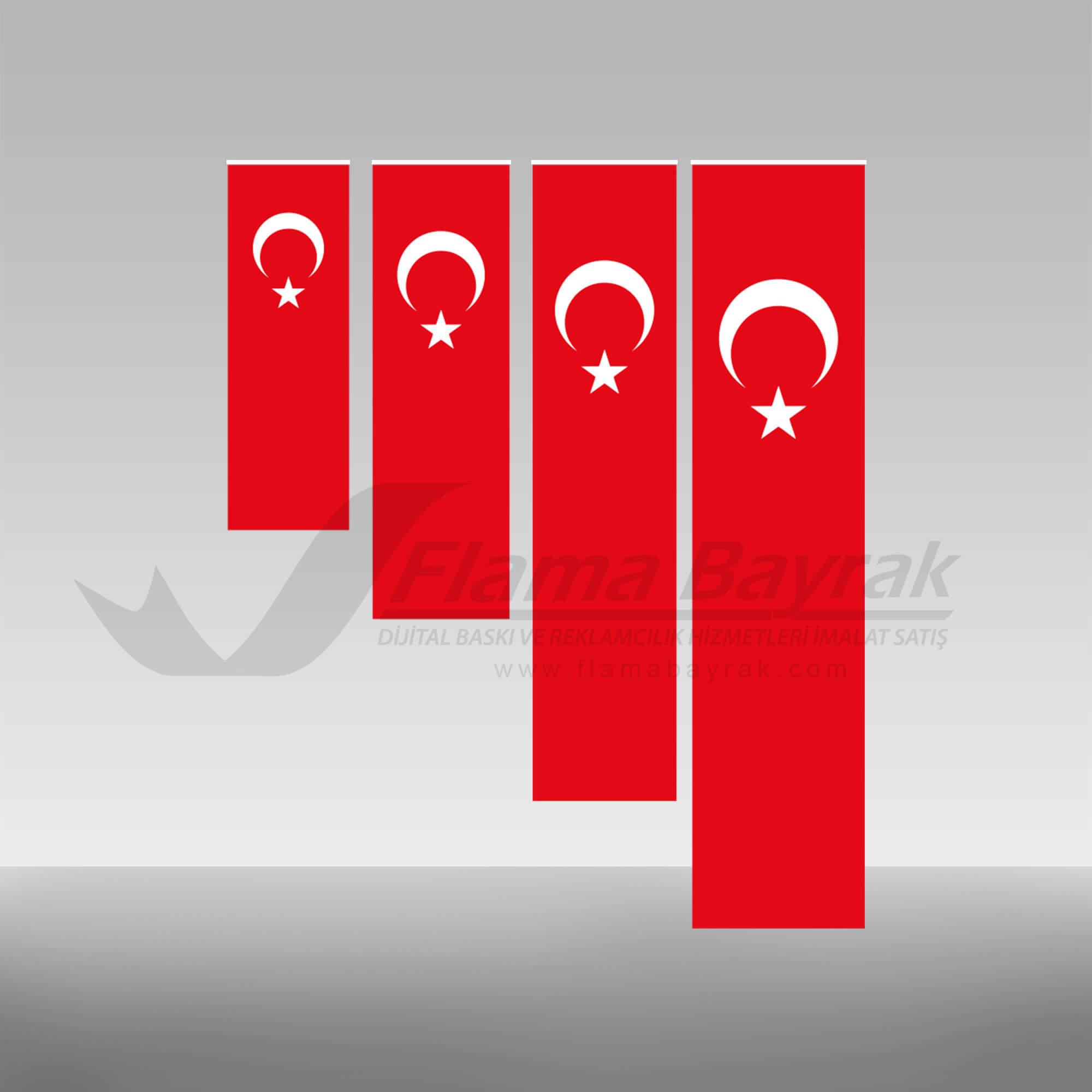 Türk Bayrağı düz Türk Bayrağı