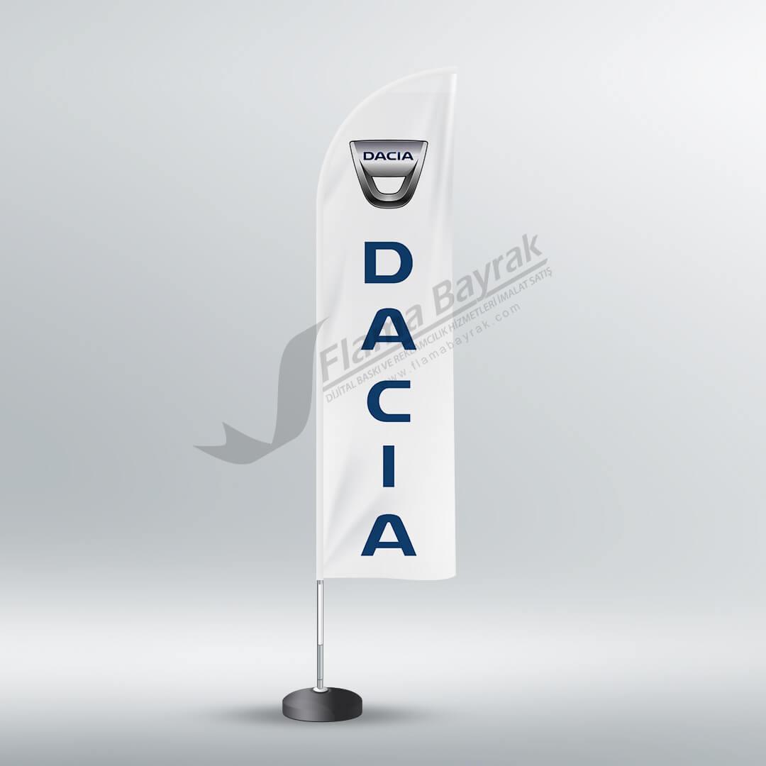 dacia reklam bayrağı Reklam Bayrağı
