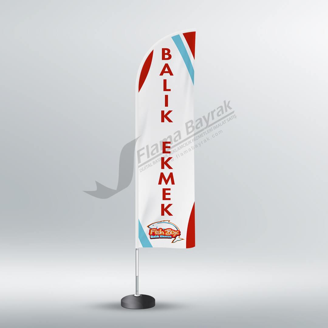 fish box reklam bayrağı Reklam Bayrağı