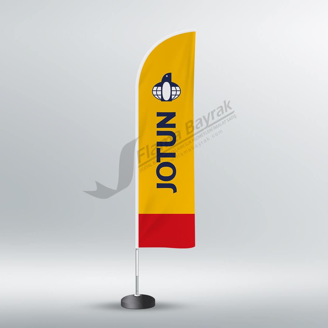 jotun reklam bayrağı Reklam Bayrağı