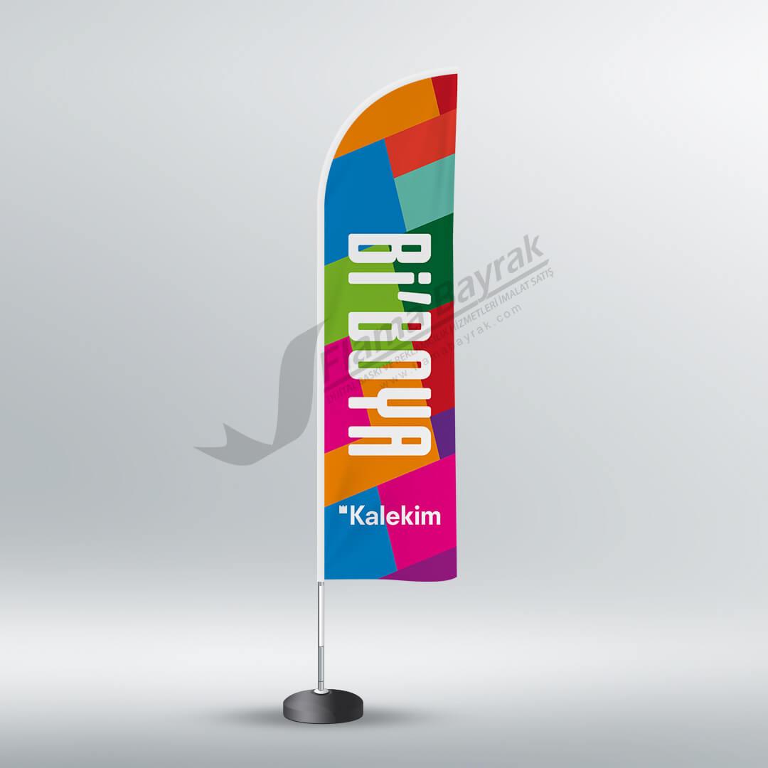 kalekim bidünya reklam bayrağı Reklam Bayrağı