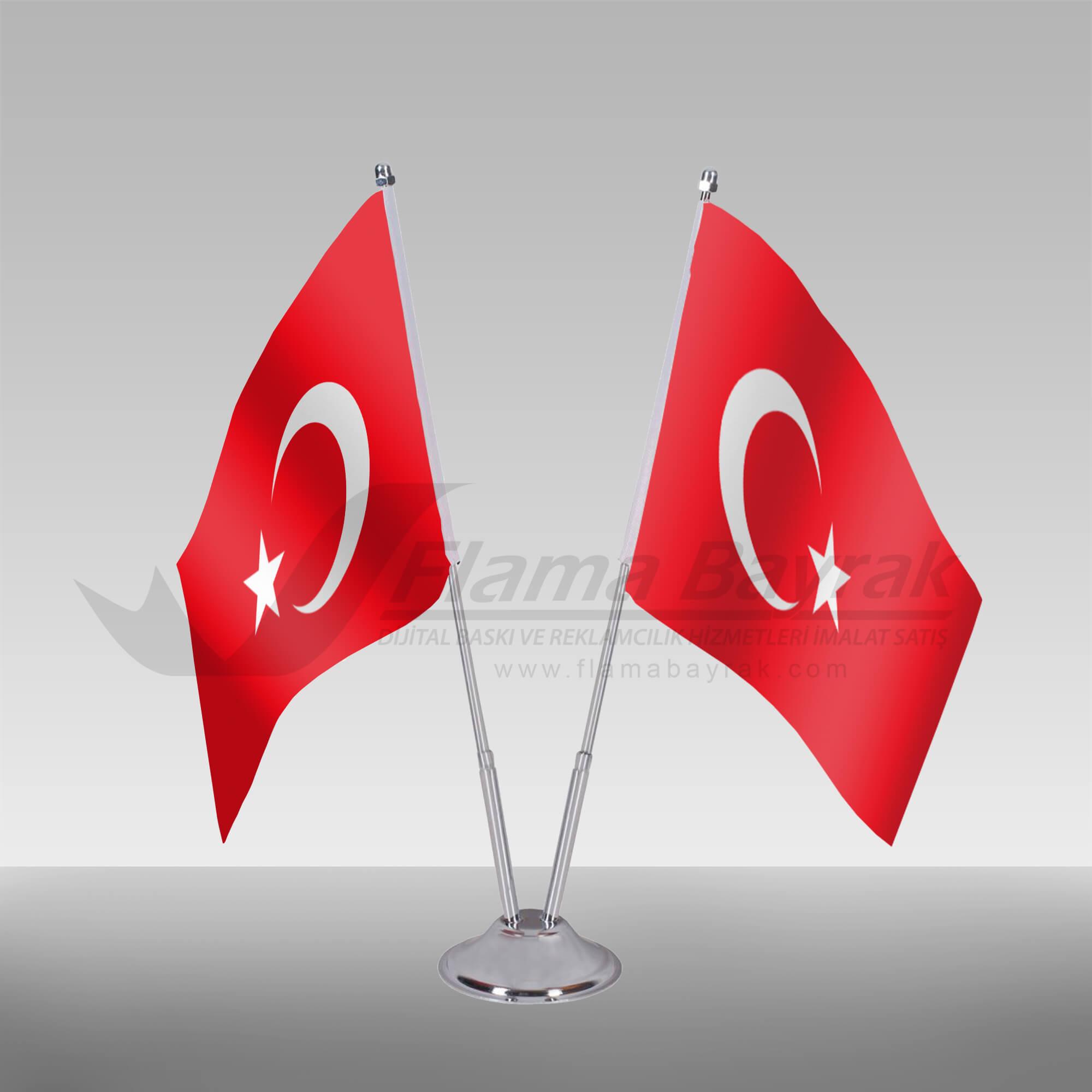 masa Türk Bayrağı Türk Bayrağı