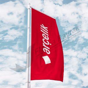 arcelik bayragi 300x300 Benzinlik Tipi Gönder  Bayrağı