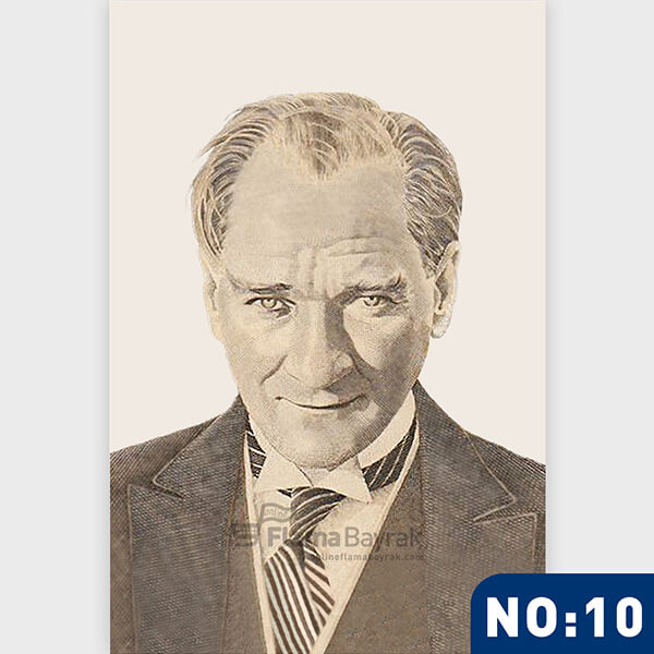 Ataturk Posteri no 10 Atatürk Posteri