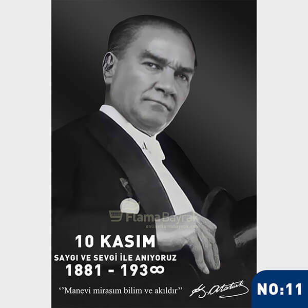 Ataturk Posteri no 11 Atatürk Posteri