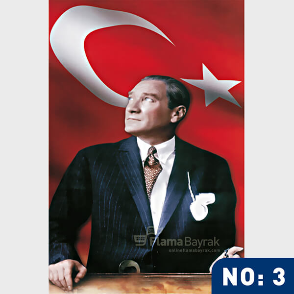 Ataturk Posteri no 3 Atatürk Posteri