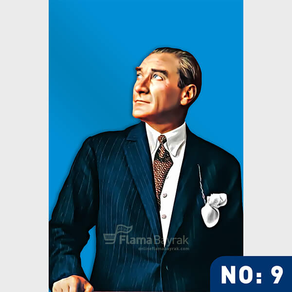 Ataturk Posteri no 9 Atatürk Posteri