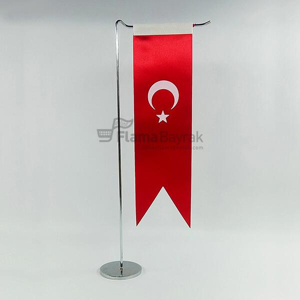 L Tipi Kirlangic Turk Masa Bayragi Türk Bayrağı