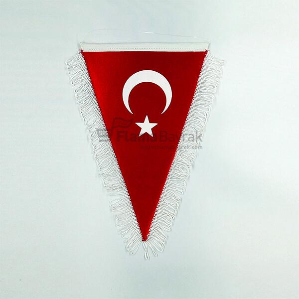 Sacakli Ucgen Turk Bayragi Türk Bayrağı