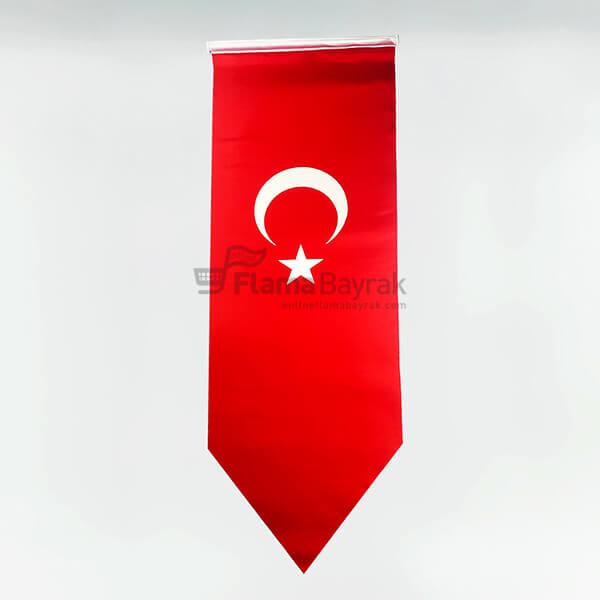 Sivri Uclu Turk Bayragi Türk Bayrağı
