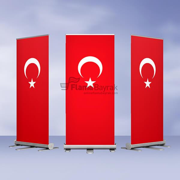 Turk Roll Up Banner Türk Bayrağı